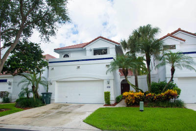 Boca Raton Single Family Home For Sale: 21722 Cromwell Circle
