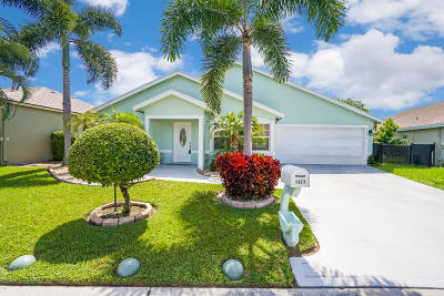 Greenacres Single Family Home Contingent: 1177 Hatteras Circle