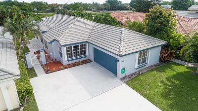 Boynton Beach Single Family Home For Sale: 6184 Lansdowne Circle