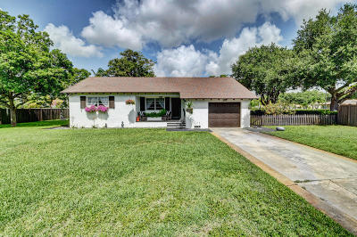 Delray Beach Single Family Home For Sale: 1906 Swinton Avenue