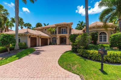 North Palm Beach Single Family Home For Sale: 797 Harbour Isles Place
