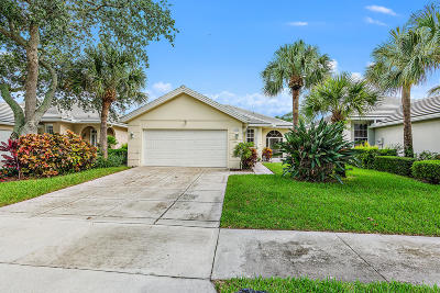 Palm Beach Gardens FL Single Family Home For Sale: $405,000