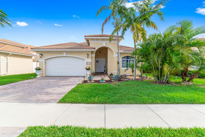West Palm Beach Single Family Home For Sale: 8804 S San Andros