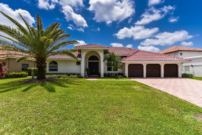 Boca Raton FL Single Family Home For Sale: $724,900