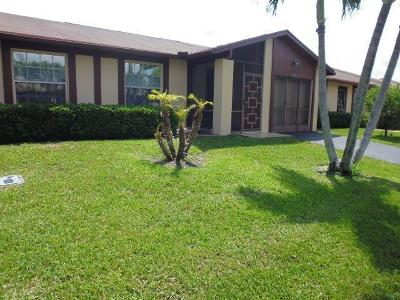 Delray Beach Single Family Home For Sale: 5423 Viburnum Street