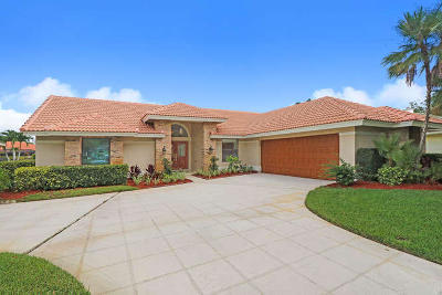 Jupiter Single Family Home For Sale: 6673 Lakeland Court