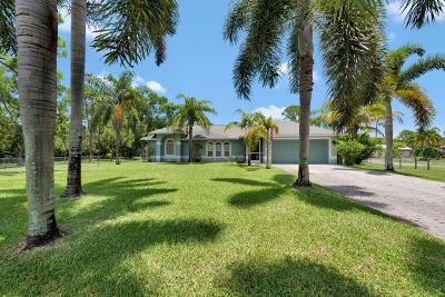 Loxahatchee Single Family Home For Sale: 17565 Murcott Boulevard