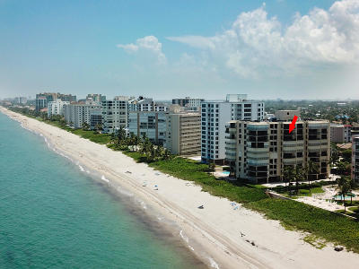 Highland Beach Condo For Sale: 3009 S Ocean Boulevard #904