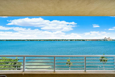 West Palm Beach Condo For Sale: 1551 Flagler Drive #918