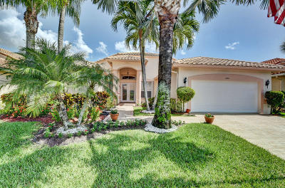 Boynton Beach Single Family Home For Sale: 6546 Arno Way