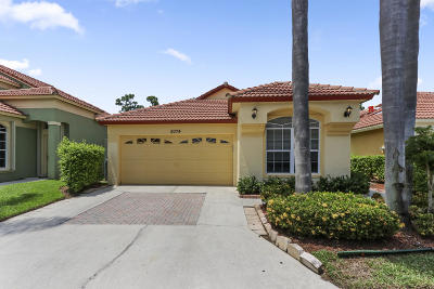 Palm Beach Gardens FL Single Family Home For Sale: $265,000
