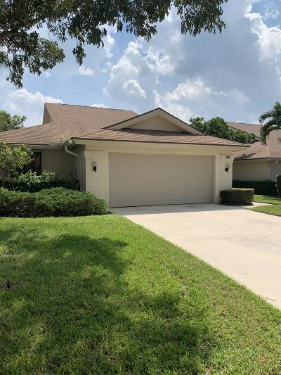 Jupiter Single Family Home For Sale: 188 Harbourside Circle