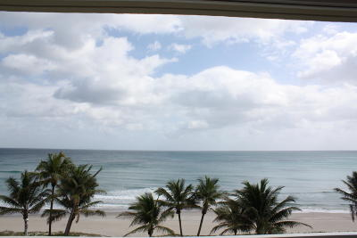 Highland Beach Condo For Sale: 3101 S Ocean Boulevard #922