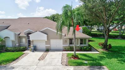 Boca Raton Single Family Home Contingent: 9238 Vineland Court #G
