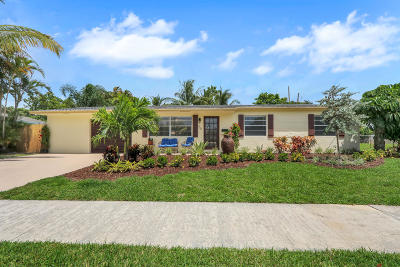 North Palm Beach Single Family Home For Sale: 756 Buttonwood Road