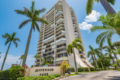 West Palm Beach Condo For Sale: 2425 Presidential Way #805
