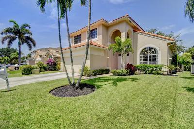 Boynton Beach Single Family Home For Sale: 1025 W Fairfax Circle