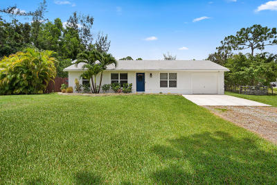 west palm Single Family Home For Sale: 11285 51st Court