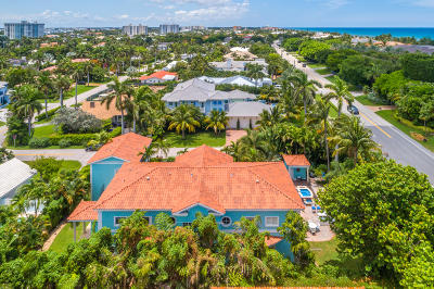 Delray Beach Single Family Home For Sale: 1002 S Ocean Boulevard