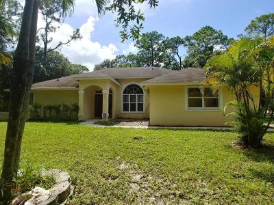 Jupiter Single Family Home For Sale: 16891 98th Way