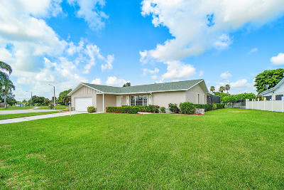 Palm Beach Gardens FL Single Family Home For Sale: $449,000