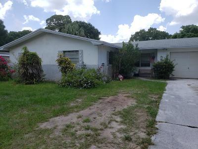 Fort Pierce Single Family Home For Sale: 1715 Ponce De Leon Prado