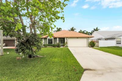 Jupiter Single Family Home For Sale: 6093 Lucerne Street