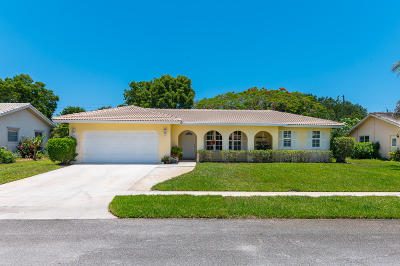 Boca Raton Single Family Home For Sale: 3420 NW 25th Way