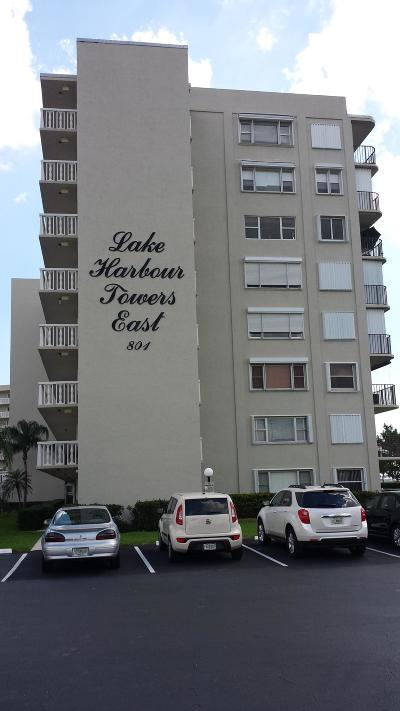 Lake Park Condo For Sale: 801 Lake Shore Drive #317