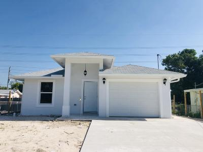 west palm Single Family Home For Sale: 2701 Kentucky Street