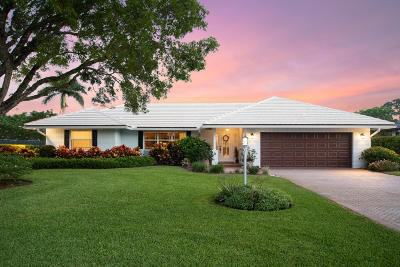 Boynton Beach Single Family Home For Sale: 4770 S Lake Drive