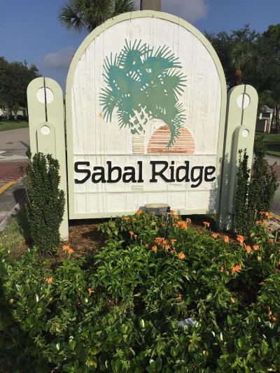 Condo Sold: 1101 Sabal Ridge Circle #C