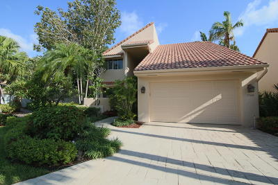 Boca Raton Single Family Home For Sale: 17030 Newport Club Drive