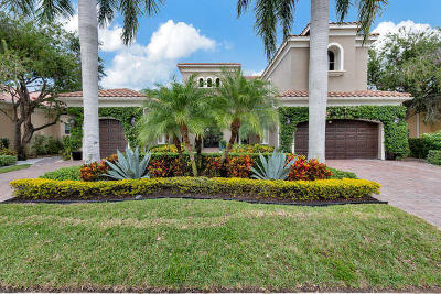 Palm Beach Gardens Single Family Home For Sale: 107 Vizcaya Estates Drive