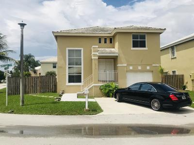 Margate Single Family Home For Sale: 6414 Amberjack Ter Terrace