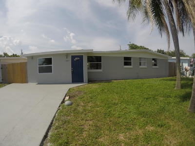 Palm Beach Gardens Single Family Home For Sale: 3807 Everglades Road