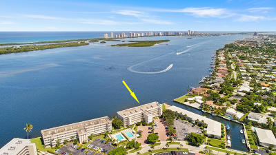 North Palm Beach Condo Contingent: 60 Yacht Club Drive #102