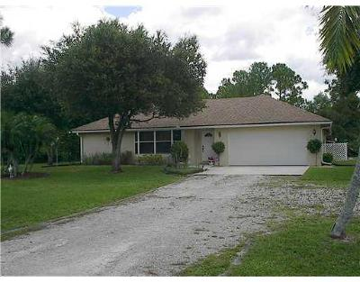 West Palm Beach Single Family Home For Sale: 12315 62nd Lane