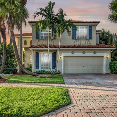 Boynton Beach Single Family Home For Sale: 4813 Gateway Gardens Drive