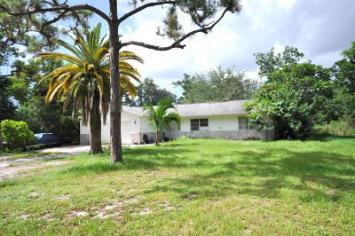 Lake Worth Single Family Home Contingent: 5845 Western Way
