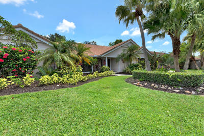 Palm Beach Gardens Single Family Home For Sale: 11 Dunbar Road