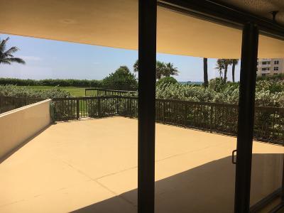 Palm Beach Condo For Sale: 3440 S Ocean Boulevard #108n
