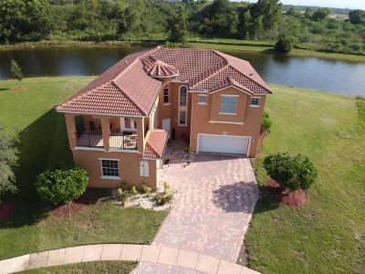 Fort Pierce Single Family Home For Sale: 8752 Cobblestone Drive