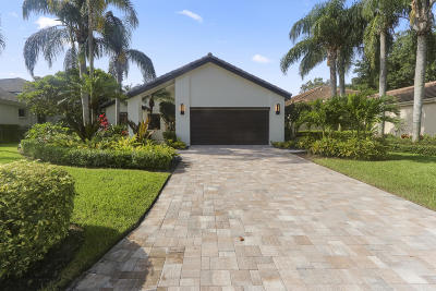 Palm Beach Gardens FL Single Family Home For Sale: $999,000