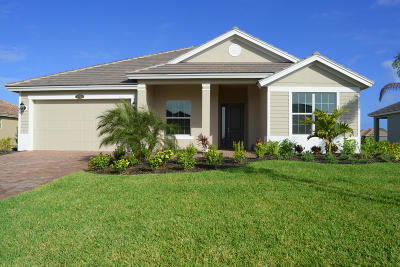 Vero Beach Single Family Home For Sale: 4706 Four Lakes Circle SW