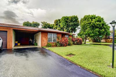 Boynton Beach Single Family Home For Sale: 543 SE 28th Avenue