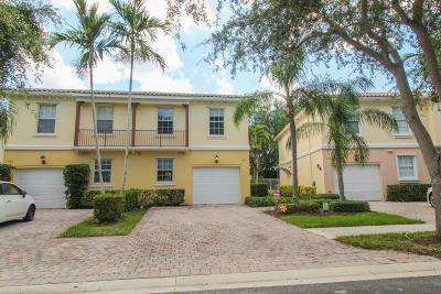 Palm Beach Gardens Townhouse For Sale: 187 Santa Barbara Way