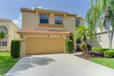 Lake Worth Single Family Home For Sale: 7107 Copperfield Circle