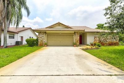 Coral Springs Single Family Home For Sale: 7126 NW 42nd Court