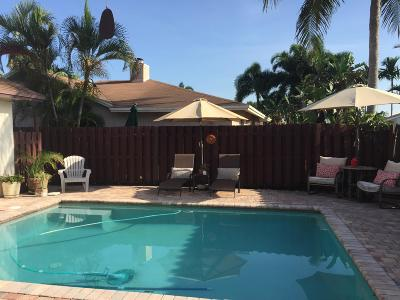 Deerfield Beach Single Family Home For Sale: 738 NW 42nd Way